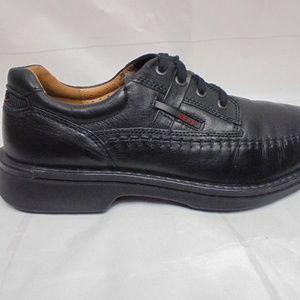 Ecco Men's Lace up Moc Toe Shoes A01-24